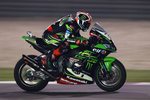 Rea heads final practice from Lowes