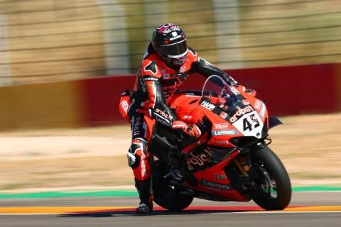 Redding fights backs with hard fought Teruel WorldSBK win