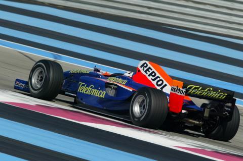 Neel Jani's GP2 lap of Paul Ricard.