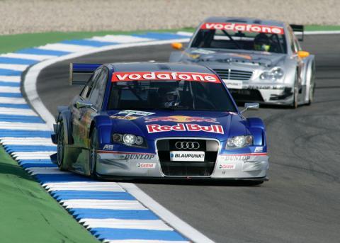 Brno 2005: Ekstrom takes first non Mercedes win.