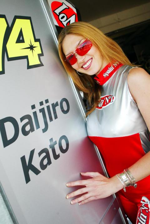 Kato leads HRC charge.