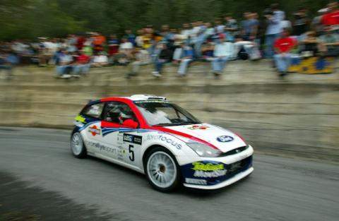 Century up for Focus WRC.