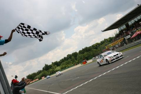 Brno 2008: Zanardi converts pole to victory.