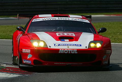 McNish takes home honours at Silverstone.