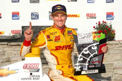 Ryan Hunter-Reay, Andretti Autosport - Q&A