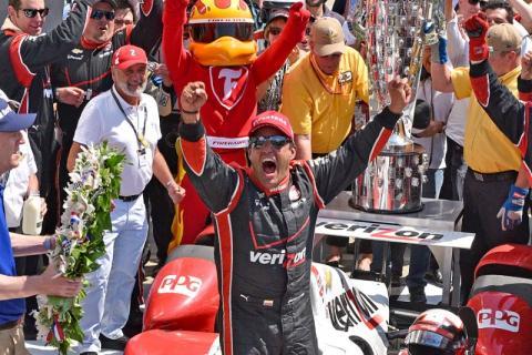 Juan Pablo Montoya wins second Indy 500 title