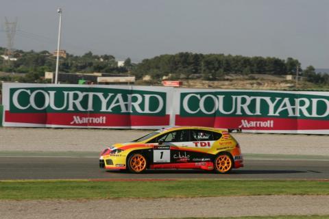 Yvan Muller takes race one in Spain