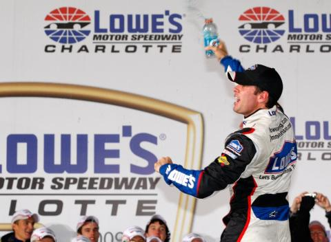 Johnson wins again, widens Chase lead