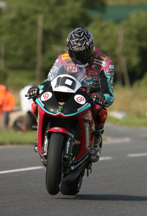 Magnificent Conor at Dundrod 150