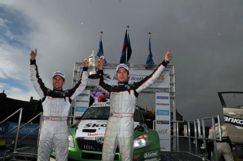 IRC: Hanninen wins in Scotland