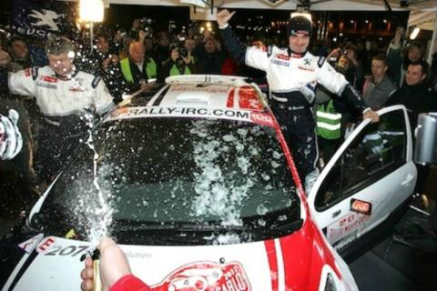 IRC: Bouffier wins Rallye Monte Carlo