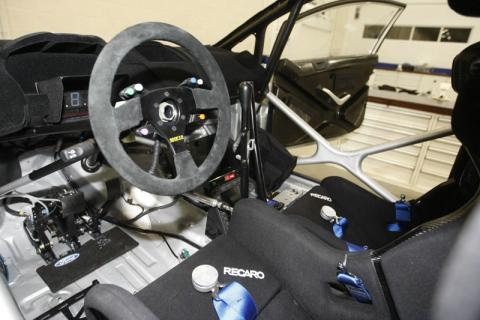 Ford Fiesta RS WRC - technical specifications