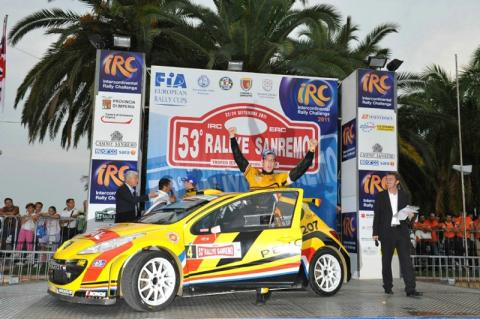 IRC: Neuville wins Sanremo thriller