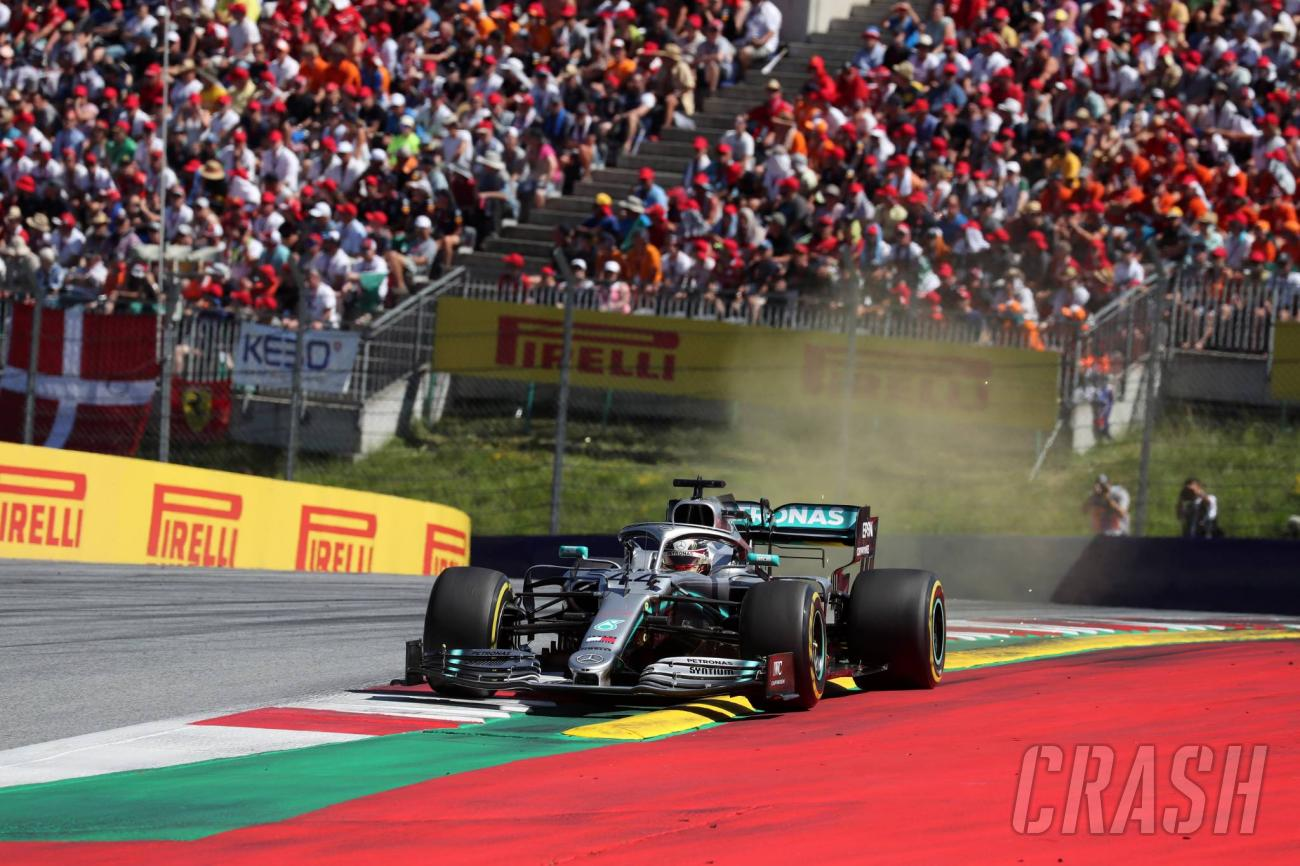 """Hamilton had to """"cruise"""" to finish in Austria with"""