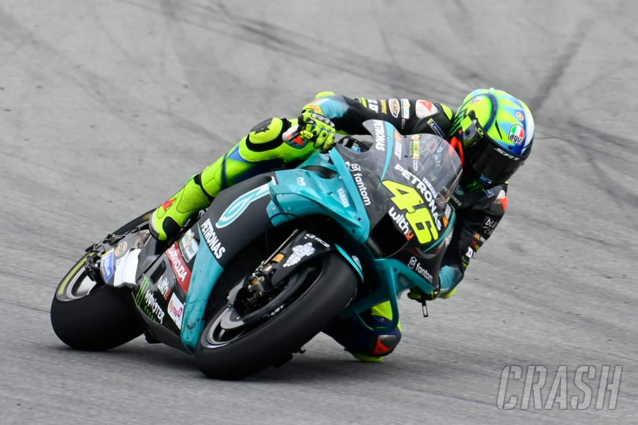 Rossi addresses Acosta to VR46 rumours, 'improved feeling' during test
