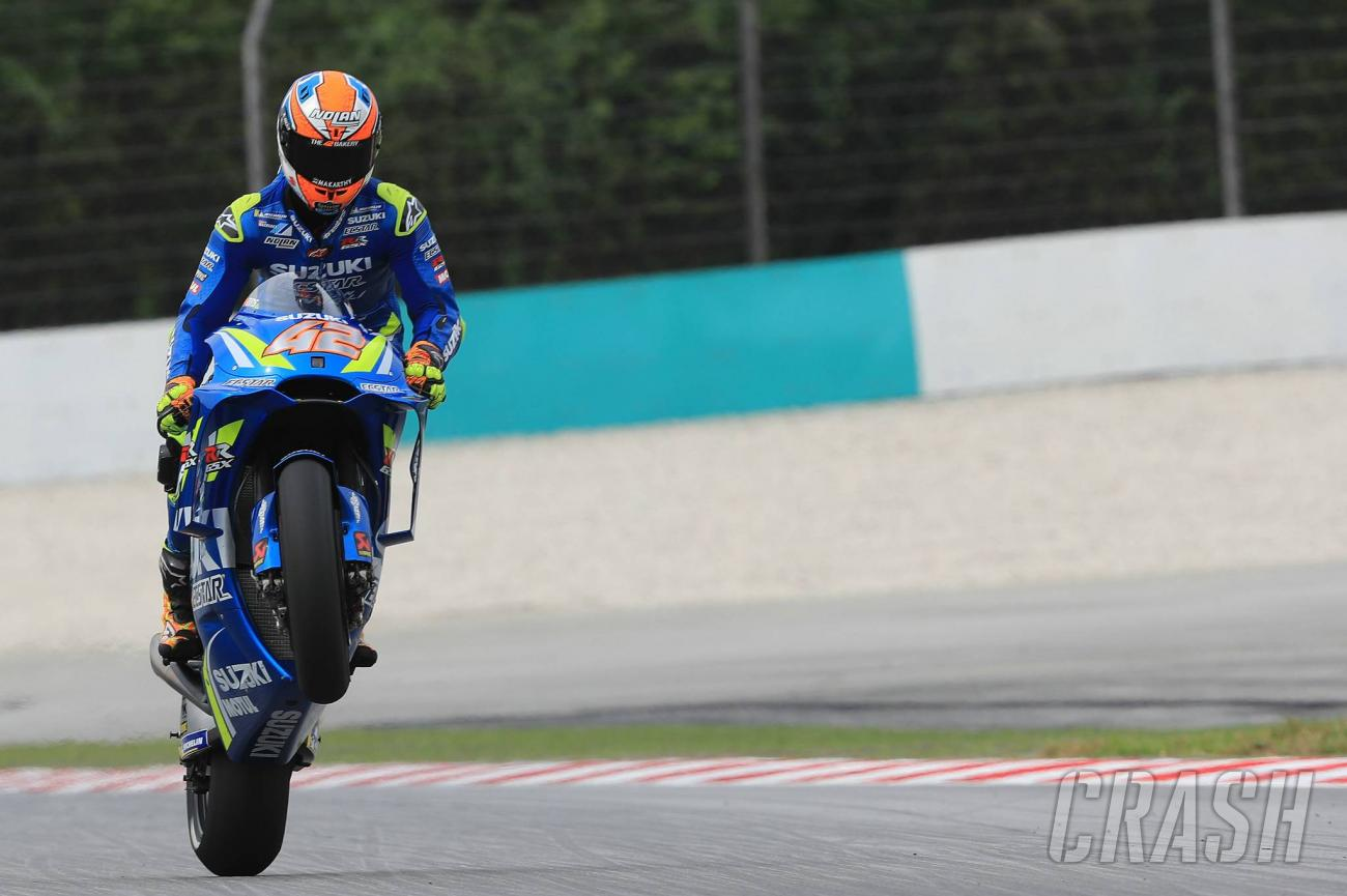 Rins Sees Off Rossi To Win Americas Motogp Marquez
