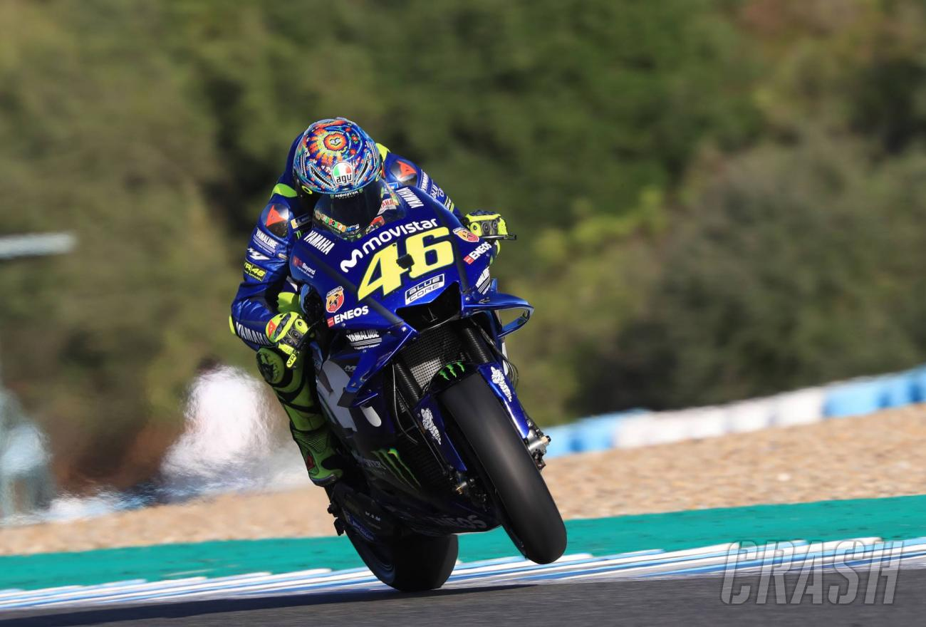 Jerez MotoGP Test: Rossi: 'Clear' that 2019 engine 'not ...