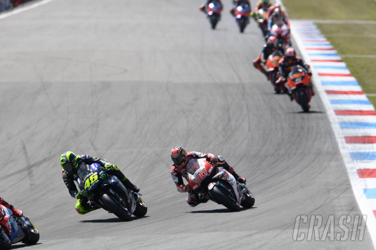 Assen: Rossi: Sorry, my mistake… maybe we found something