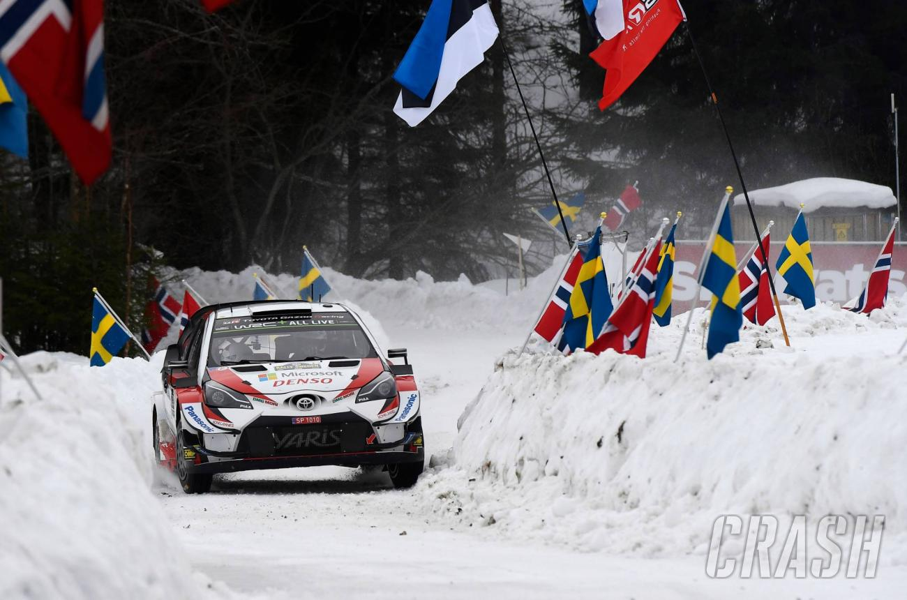 Tanak dominates to Rally Swede...