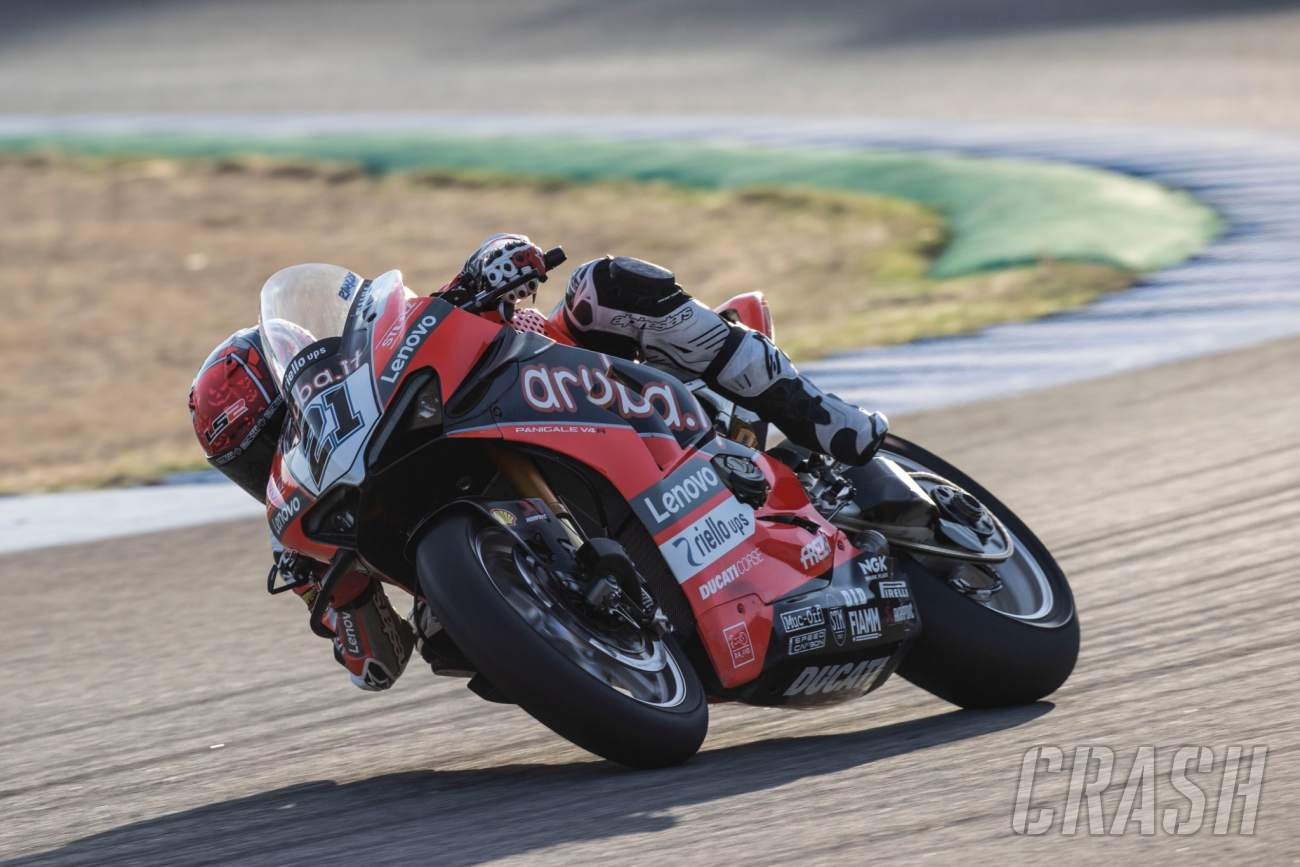 World Superbike Jerez, Spain - Official Warm-up Results
