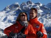 Schumacher 'different, but here' - F1 legend's wife provides update