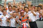 'My target is to win MotoGP titles, not win a lot of races'