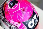 Gasly reveals special F1 helmet tribute to Hubert
