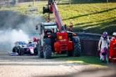Perez bisa saja kehilangan upgrade Rusia setelah Stroll jatuh di F1
