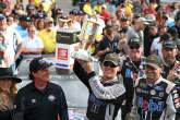 Kevin Harvick dominates crash filled Big Machine Vodka 400 at Indy