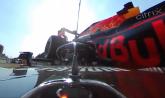 WATCH: Dramatic new F1 footage shows Verstappen's wheel hit Hamilton