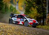 Evans remains out in front at drama-filled Rally Finland