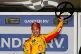 Logano edges Bowyer for first Daytona Duel win