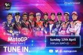 How to watch the MotoGP Virtual Race 2