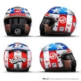 Grosjean reveals Hayden tribute helmet for United States GP