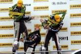 , - Podium race 3 - Gareth Howell (GBR), Team Halfords Team Dynamics Honda, Matt Neal (GBR), Team Halfor