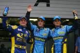 30.09.2006 Shanghai, China, Fernando Alonso (ESP), Renault F1 Team, Pole Position, 2nd Giancarlo Fis