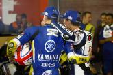 Toseland and Lorenzo, Qatar MotoGP 2008