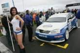 Grid Girl of Harry Vaulkhard (GBR) - Tempus Sport Chevrolet Lacetti, Babe
