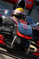 02.02.2010 Valencia, Spain, Lewis Hamilton (GBR), McLaren Mercedes - Formula 1 Testing, Valencia