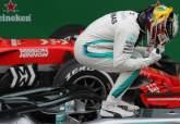 F1: Hamilton relishes 'surprise' victory after Verstappen clash