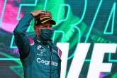 """Vettel """"over the moon"""" with 'unexpected' first F1 podium for Aston Martin"""