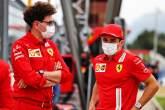 (L to R): Mattia Binotto (ITA) Ferrari Team Principal with Charles Leclerc (MON) Ferrari.