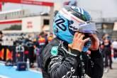 Valtteri Bottas (FIN) Mercedes AMG F1 on the grid.