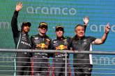 Podium F1 GP Amerika Serikat