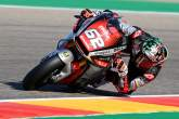 Stefano Manzi , Moto2, Aragon MotoGP. 16 October 2020