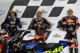 Sam Lowes Remy Gardner Marco Bezzecchi parc ferme, Moto2, Doha MotoGP, 3 April 2021