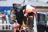 Pol Espargaro crash Spanish MotoGP, 1 May 2021