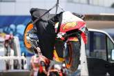 Pol Espargaro crash Spanish MotoGP, 1 May 2021