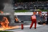 Fire, Styria MotoGP race, 8 August 2021