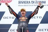 Raul Fernandez Moto2 race, San Marino MotoGP 2021